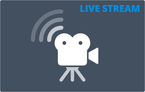 MediaMyne CMS live video stream